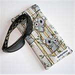 Padded Sunglasses Pouch in Cute Koala Fabric