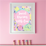Sweet Dream Little One art print