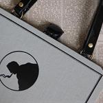The Hound of the Baskervilles - Sir Arthur Conan Doyle. Upcycled book - Handmade