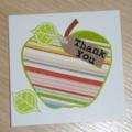 Thank you Teacher card - The Big Apple