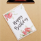 happy birthday watercolour roses card