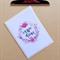 carpe diem wreath inspirational card