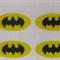 12 EDIBLE RICE WAFER PAPER CARD BATMAN SUPERHERO CUPCAKE PARTY TOPPERS