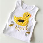 New Baby Ducky Onesie Baby Shower Gift Baby Onesie