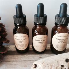 Men's Beard Oil / Face Oil Serum. Natural. Plant-Based Men's Skincare
