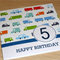 Boys 5th Birthday Card -   cars