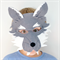 Wolf Mask - Kids Costume - Book week - Wolf Costume - Boys Costume