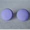 Purple stud earrings, polymer clay stud earrings, 3 sizes available,FREE postage