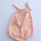 Size 18-24M - Pink with gold spots pillowcase romper