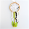 DREAM CATCHER - a dream is a wish your heart makes - lime green