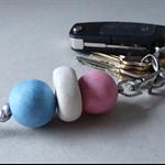 Key ring, key chain, bag charm, back to school key key ring, FREE postage