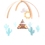 Teepee | Nursery Mobile (custom)