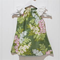Sage Floral Sundress - size 3