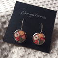 Free Postage! Yummy! Fruits Resin Earrings
