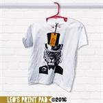 Hand screen printed 'Top Cat' Toddler T-shirt