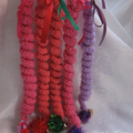 Crocheted Cat Toys