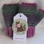 Wool Fingerless Gloves Storm