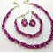 Purple AB and Seed Bead Set