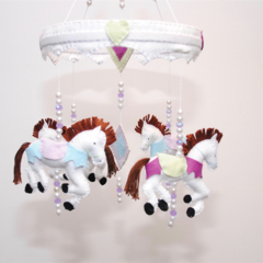 Carousel Baby mobile