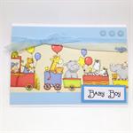 Baby Card - Zoo Train