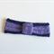 boho crochet headband  ear warmer lilac/lavender & navy  soft wool