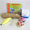 Shopping Book and Felt Play Food Set