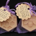 Goat's Milk Oats and Honey, guest/ travel soap (Beehive), 30pcs  -Cold Processed