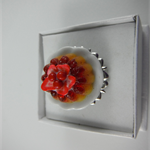 Strawberry Pudding Ring