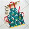 Kids/Toddlers Christmas Apron - lined kitchen/craft/play apron - Polar Bears