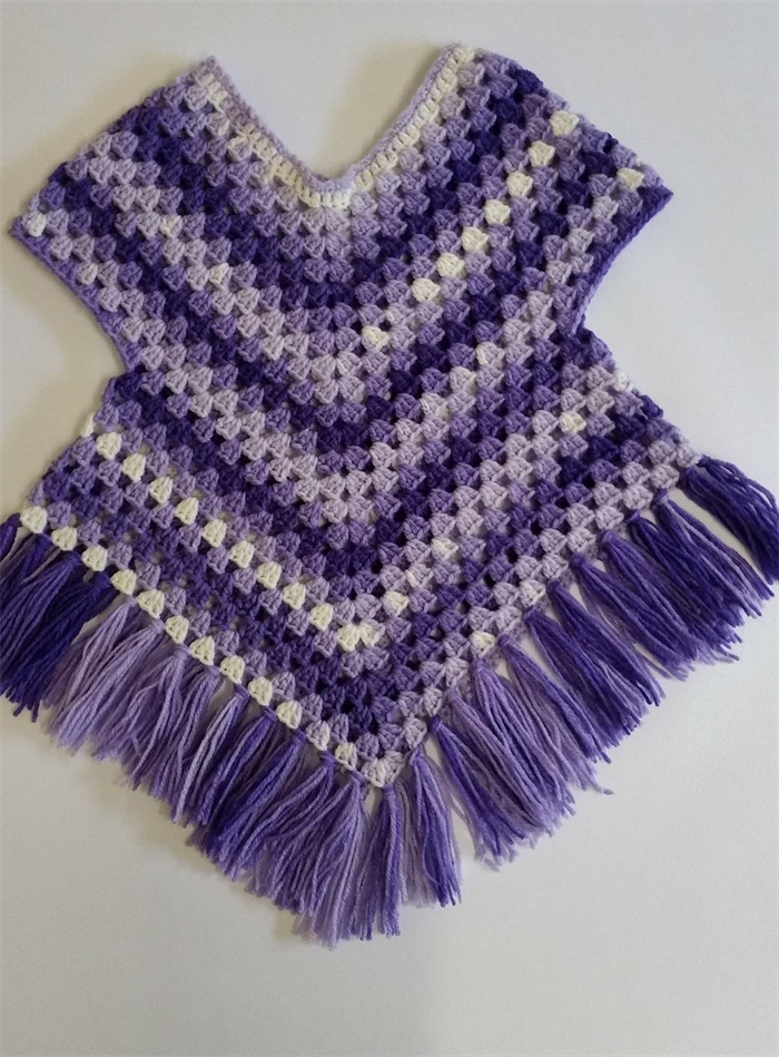 Crocheting With Arms : Poncho season is upon us, This colourful Poncho with arm holes is ...