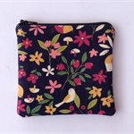 Coin Purse - Bird & Flowers