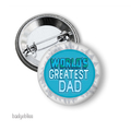 Fathers Day badge - Worlds Greatest Dad