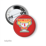 Fathers Day badge - Worlds #1 Dad