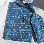 I Love London Travel wallet & Bag tag