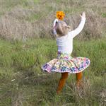 Jenny-rose Spring  twirly skirt