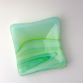 Fused Glass Trinket Bowl, Dish, Ring Bowl