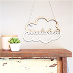 Wanderlust Cloud Wallhanging