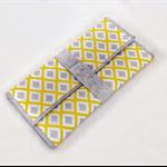 Nappy change wallet, diaper clutch, travel, wipe clean change mat