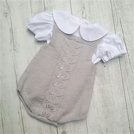 Little Lacey Romper - 0 to 6 months