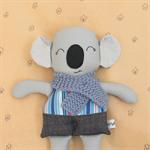 Boy Koala with little scarf