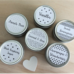 6 x Soy Candle Tins - Best Selling Fragrances - Gift Pack