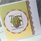 'Anniversary' - Wattle Handcrafted Card