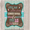 Gender Reveal Personalised Baby Shower Invitation - YOU PRINT