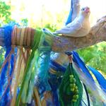 Beach House Ocean Sea Gift Surf Shell Sand Bead Bird Drusy Driftwood Feather