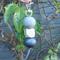 Key ring, key chain, bag charm, beaded key ring,geometric wood bead,FREE postage