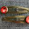 Sparrow~  Antique Bronze Snap Clip Pair