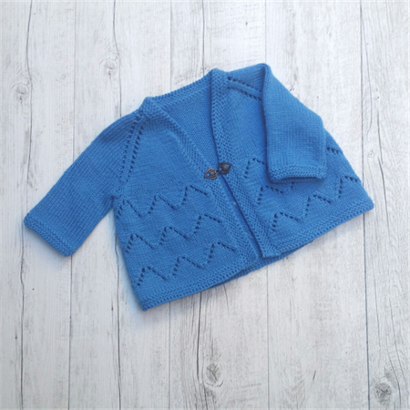 Astrid Cardigan - 6 to 12 months (generous sizing)