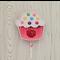 Cupcake Bubbles/Playdoh/Crayons/Pen/ Lollipop Party Favour Cutouts- 10pk