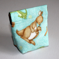 Handy Little Purse with flex frame opening in Cute Aussie Animal Fabric