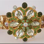 SPRING GODDESS Gold Crown Tiara